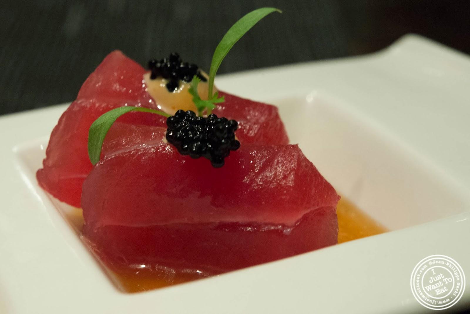 Dinner at aji 53 japanese restaurant in brooklyn new for Sushi grade fish