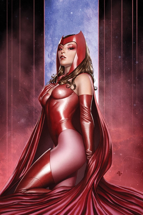 sexy scarlet witch of marvel