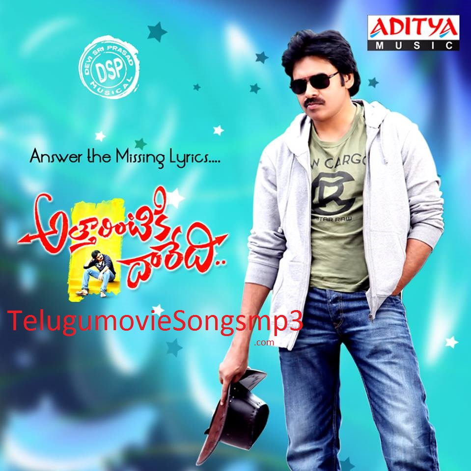attarintiki daredi(2013) telugu movie original songs mp3 free