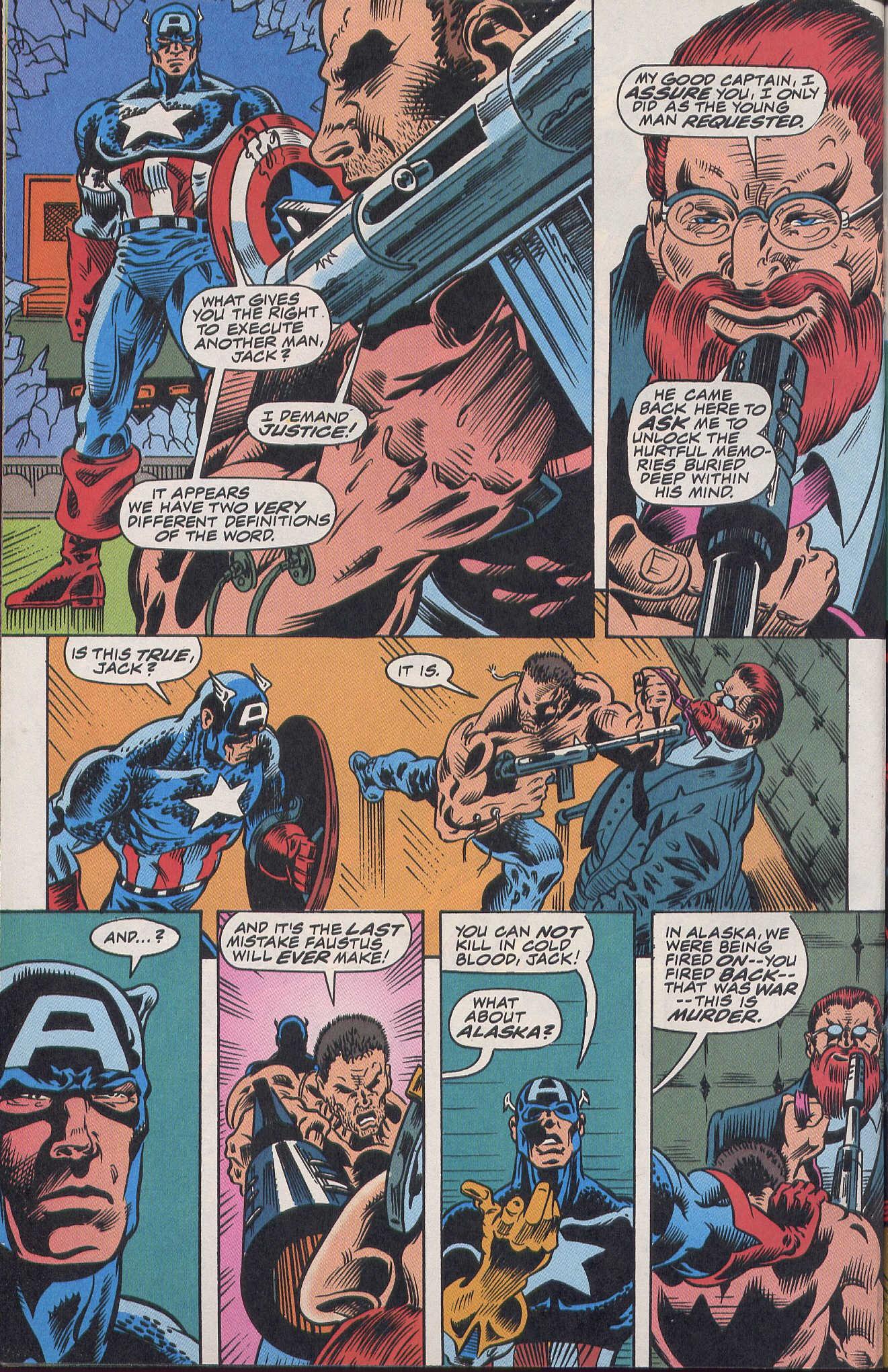 Captain America (1968) Issue #420b #370 - English 19