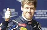 A special day for Sebastian Vettel