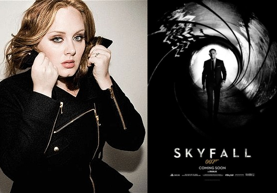 adele skyfall theme song