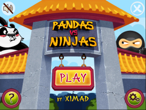 Panda vs Ninja for Blackberry