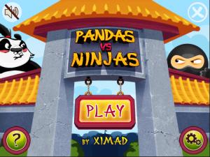 Panda vs Ninja for Blackberry