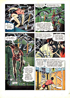 Magnus Robot Fighter v1 #18 gold key silver age 1960s comic book page art by Russ Manning