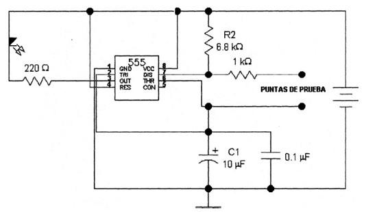 Circuito Integrado 555 : Circuito integrado diagramas