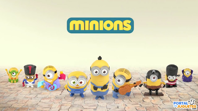 juguetes minions happy meal mc donalds