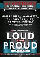 Loud And Proud Festival am 1.10.2016 in Daaden