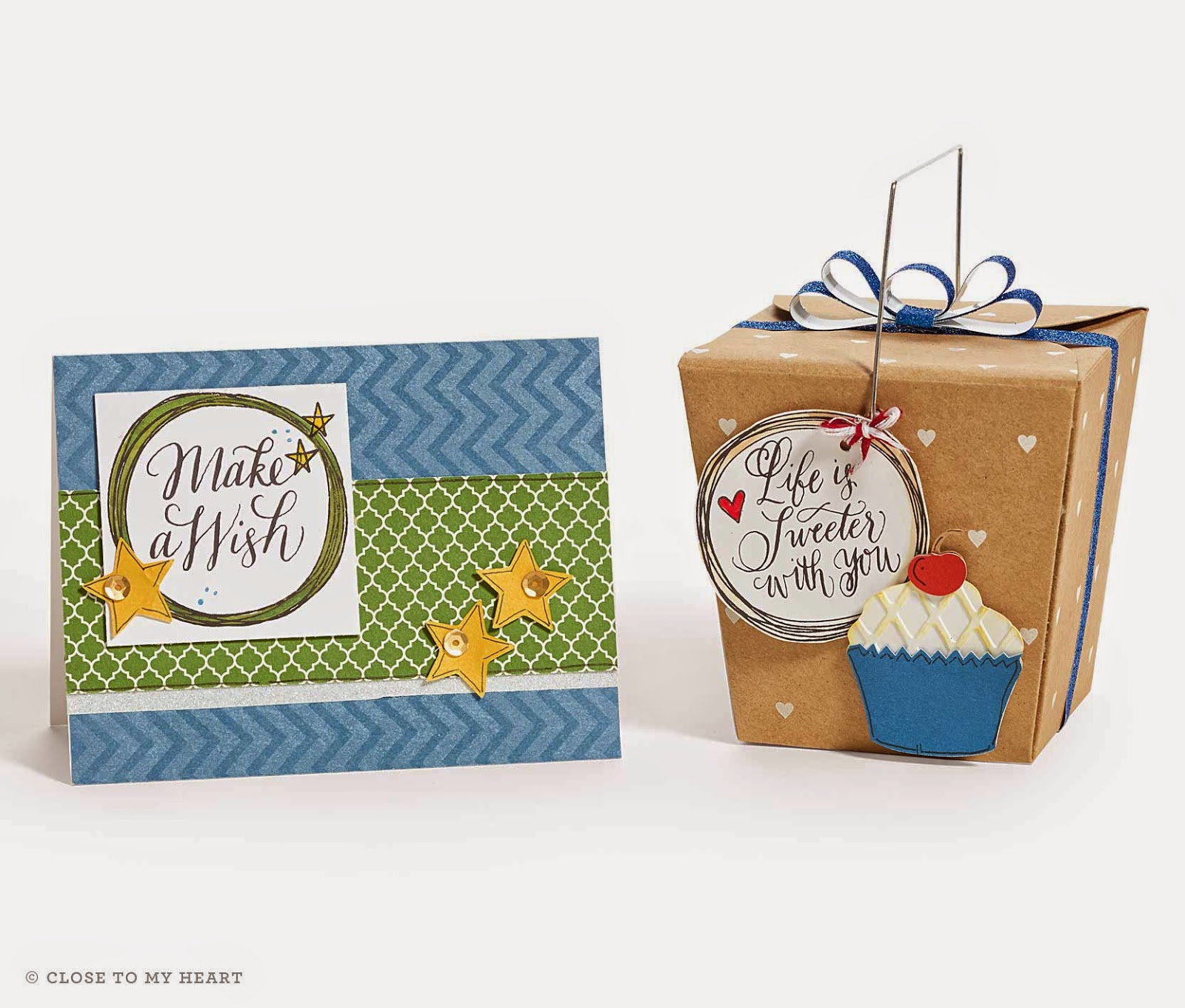 CTMH Card and Treat Box