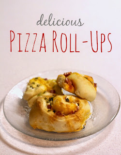 Pizza Roll-ups  from Lou Lou Girls