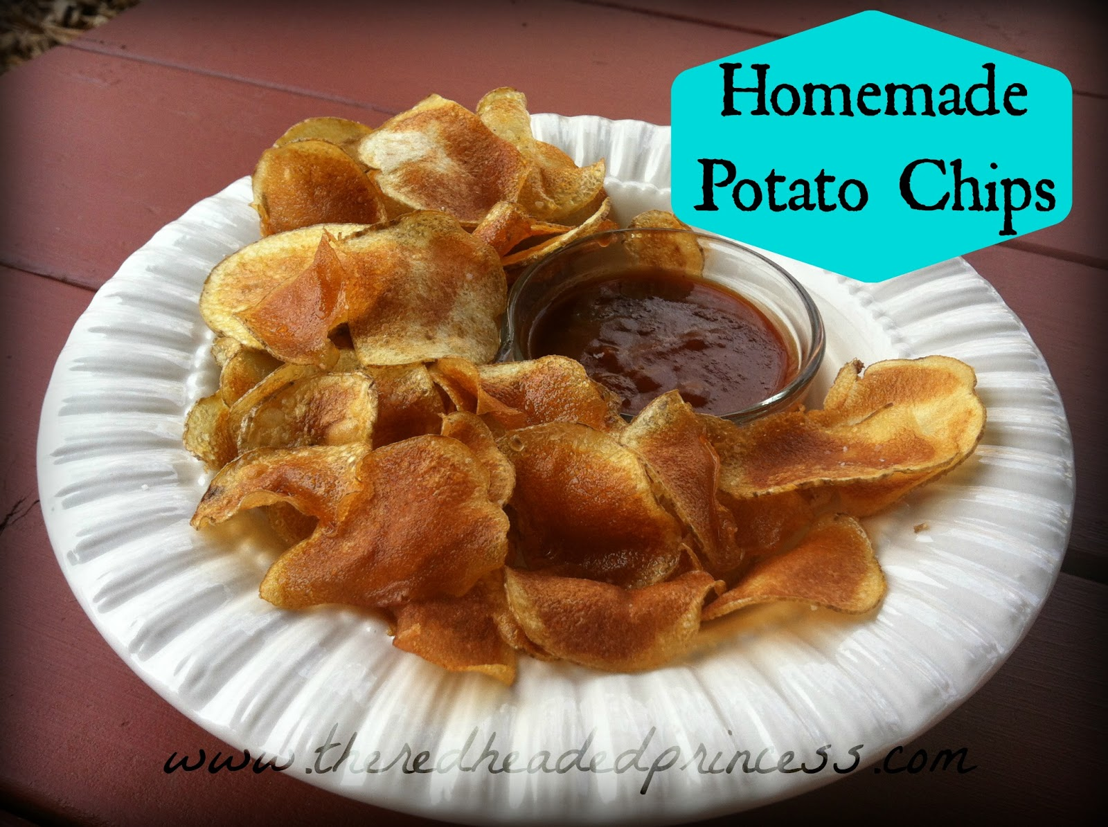 Ginger Mess: Homemade Potato Chips