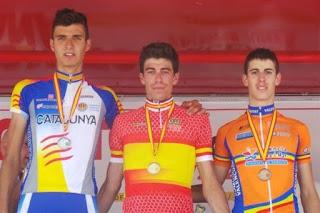CICLISMO - Rosón, campeón de España Sub-23 de ciclismo en ruta y Anna Sanchis ha conquistado el doblete