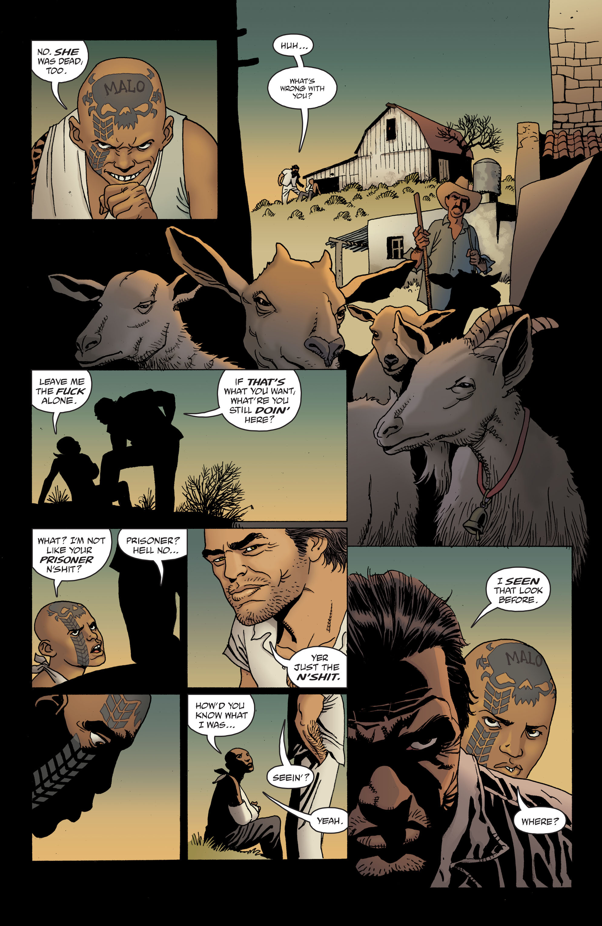 100 Bullets: Brother Lono Full Page 113