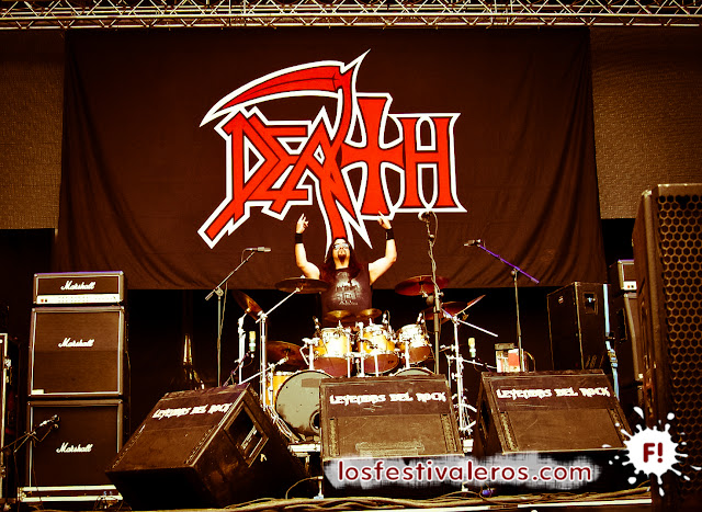 Death DTA en el Festival Leyendas del Rock 2015