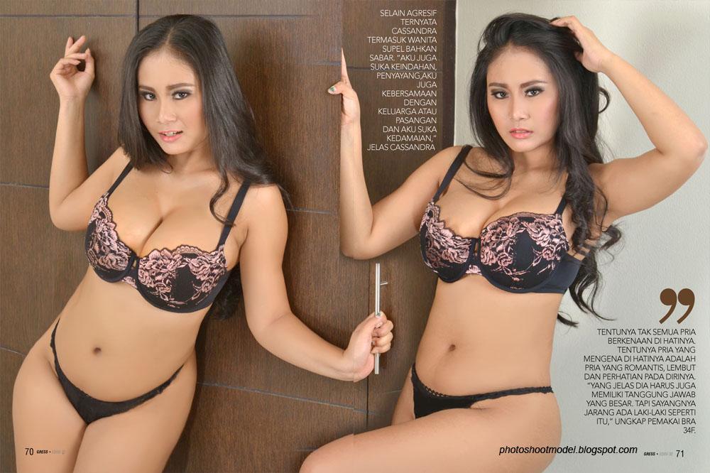 majalah gress n max magazine full foto seksi innesha