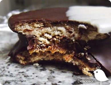 Alfajores au chocolat jasmine cuisine - Recette de cuisine argentine ...