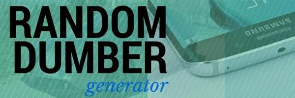 Random Dumber Generator