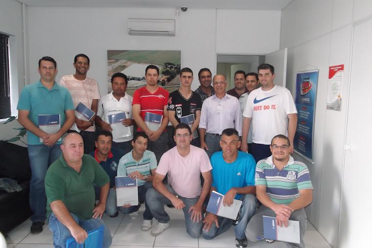Formandos 1a. Turma Curso Liderança - Cassol Pre-Fabricados/ 2012