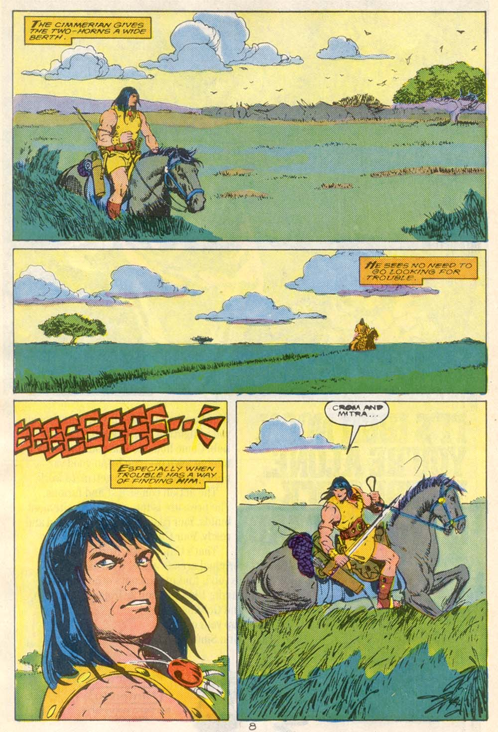 Conan the Barbarian (1970) Issue #210 #222 - English 7