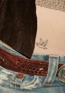 Jessica Biel Tattoos