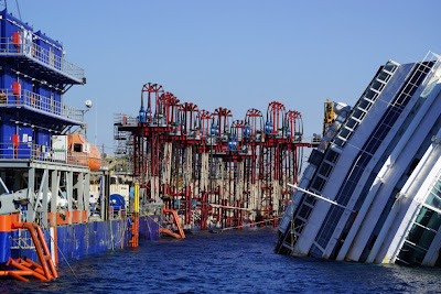 Costa Concordia today