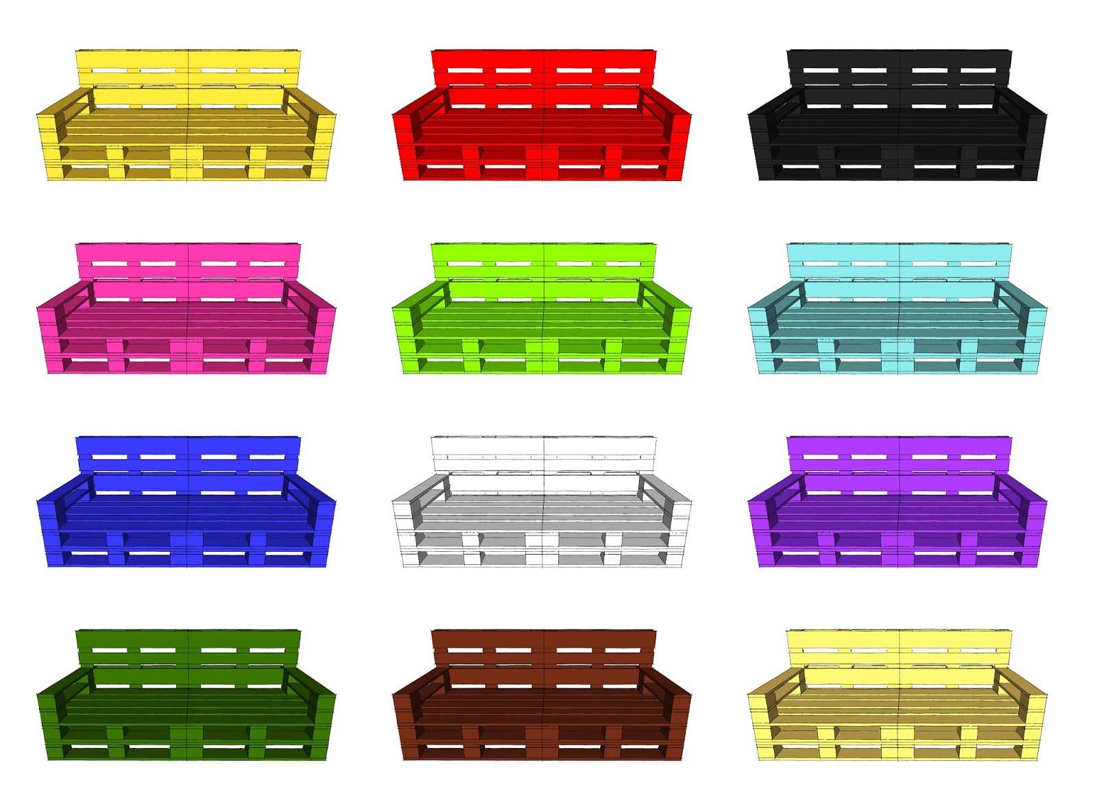 Top Progettare spazi verdi: Come costruire un divano con i pallet  GM04