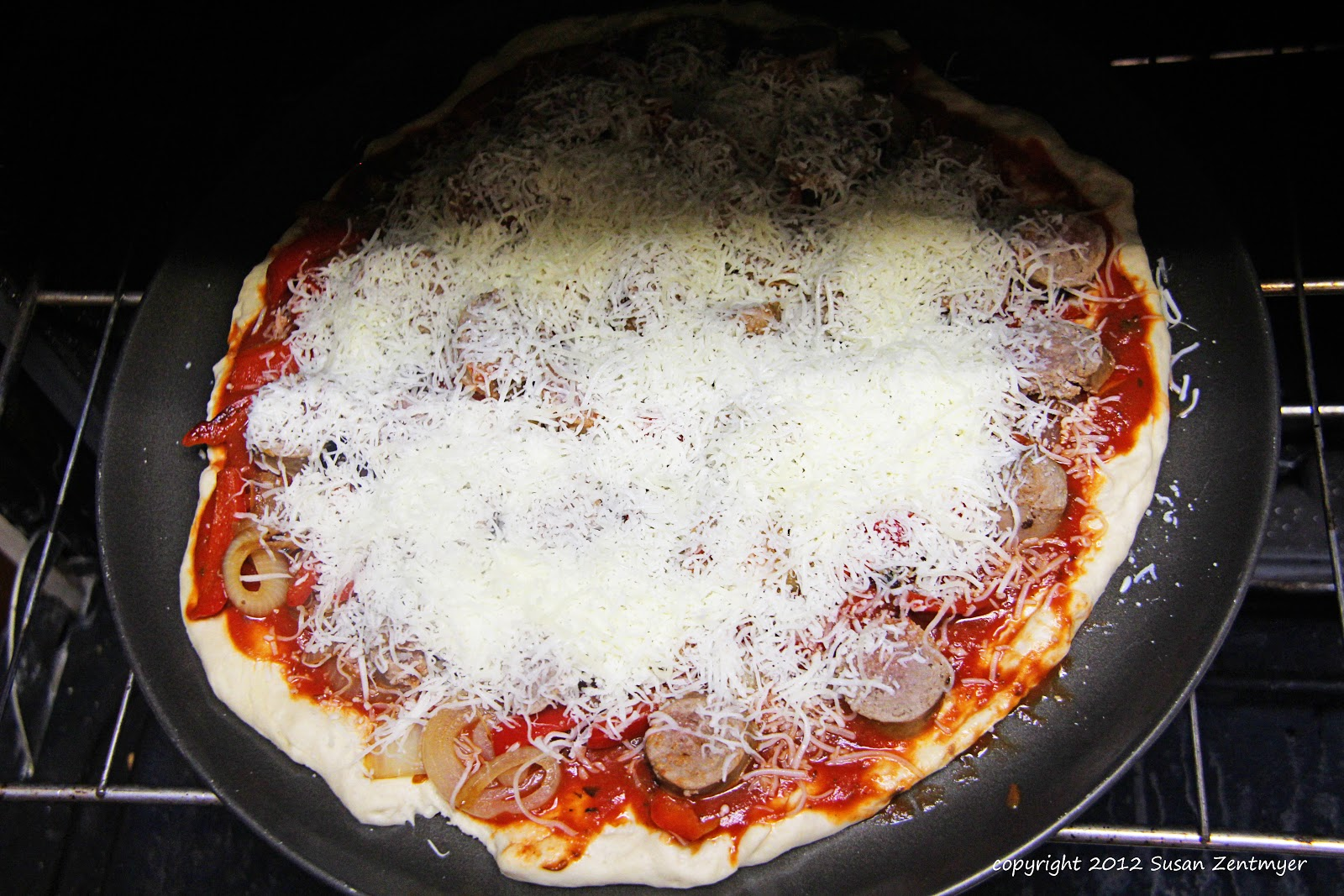 Love from the Kitchen: Italian Sausage Pizza