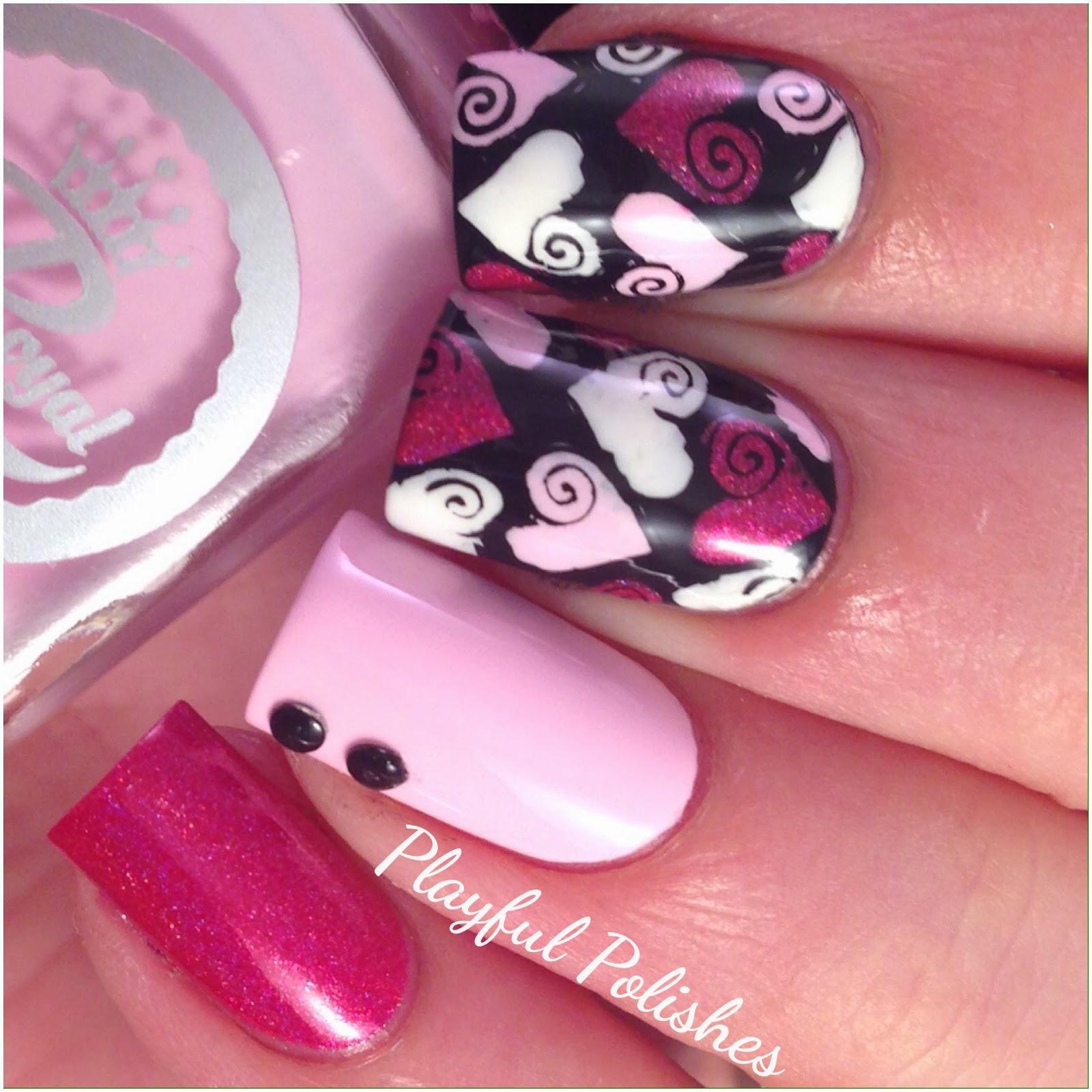 Valentine Nail Designs Pinterest