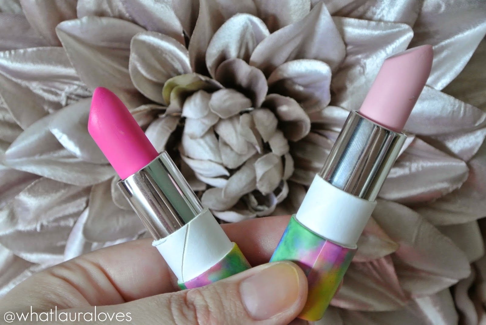 Models Own Festival Collection Lipsticks in Gone Glamping and Daisy Chain