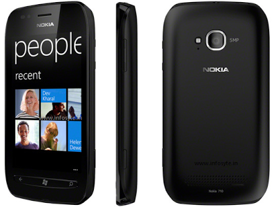 Nokia Lumia 710 Features & Price in Chhatisgarh