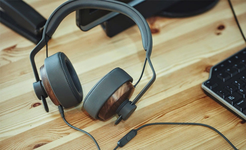 OEHP Wooden Over-Ear Headphones by Grain Audio