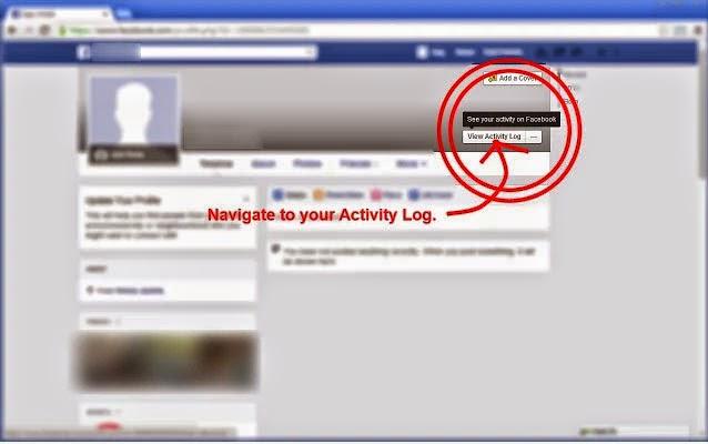 مسح جميع منشورات الفيس بوك