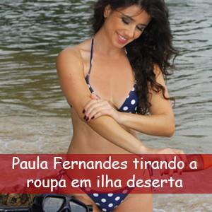 Paula Fernandes Nua