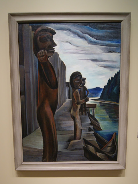 From the Forest to the Sea: Emily Carr in British Columbia Exhibit at Art Gallery of Ontario in Toronto, exhibition, paintings, forest, Canada, artist, woman, AGO, culture, art,artmatters, The Purple Scarf, Melanie.Ps, native, aboriginal, blunden Harbour