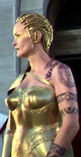 Jessica Lange Tattoos