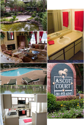 Ascot Court Apartments is located in one of the best school districts in  the nation, CyFair ISD. Beltway 8 and 290 are only minutes away from Ascot  Court, ...