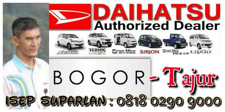 Harga Daihatsu Dealer Bogor Showroom Mobil Promo Kredit Murah