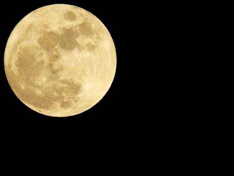 December 2014 full moon