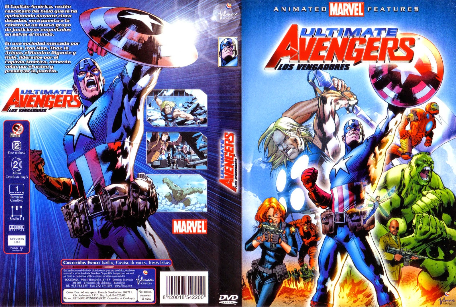 Vengadores (Ultimate Avengers) DVD