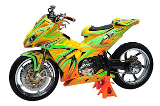 Modifikasi Jupiter Mx 2013 Warna Hijau
