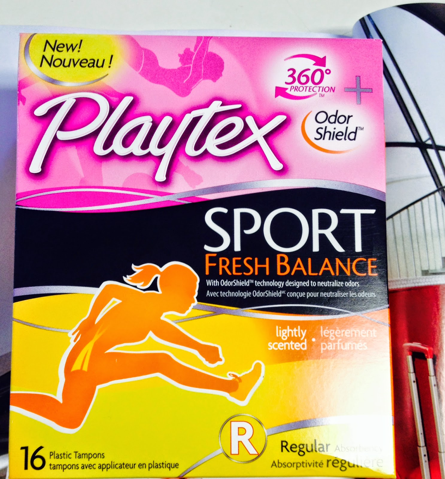 Playtex Sport Fresh Balance