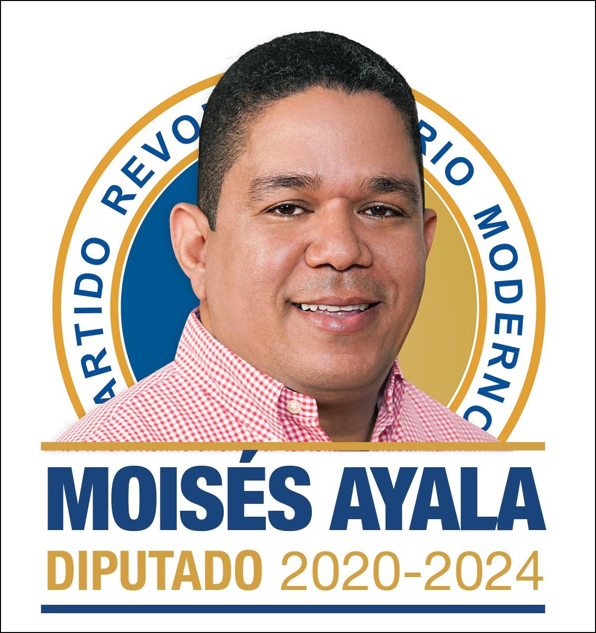 DR. MOISÉS AYALA PÉREZ, Diputado PRM provincia Barahona 2020-2024