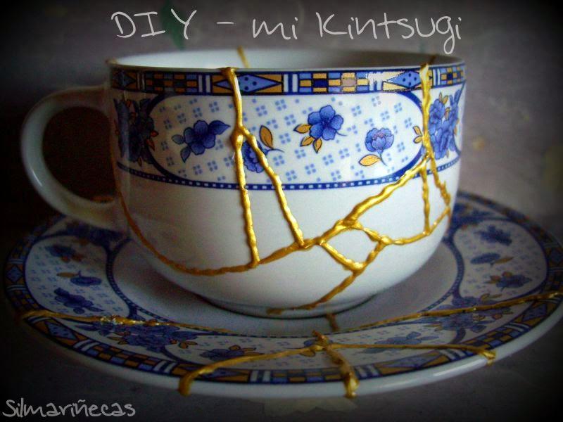 cómo hacer kintsugi