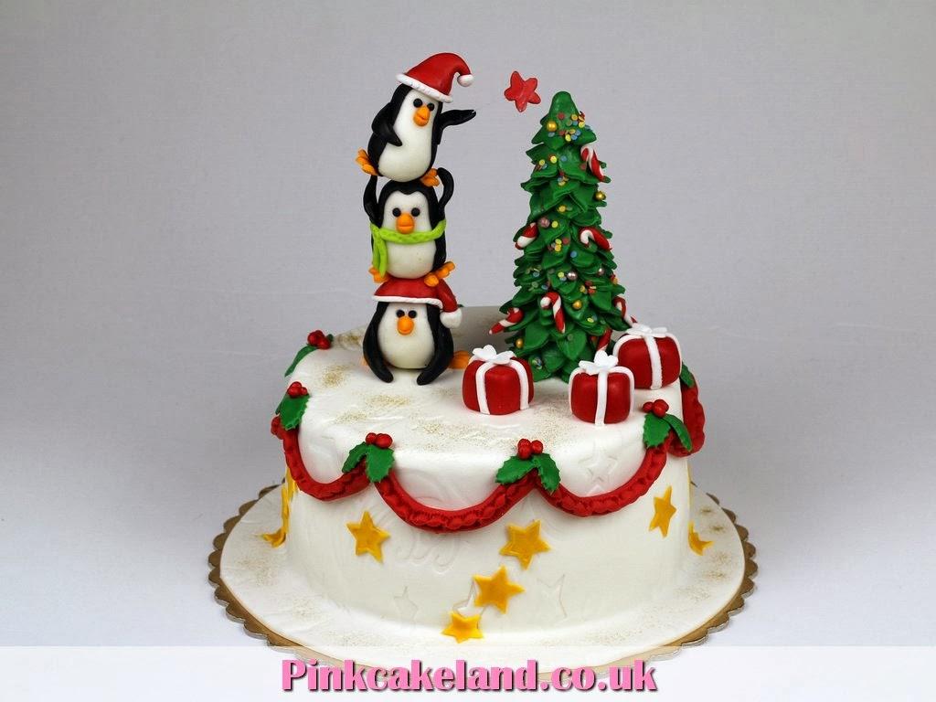 Best Christmas Cake Images : Best Birthday Cakes in London - PinkCakeLand