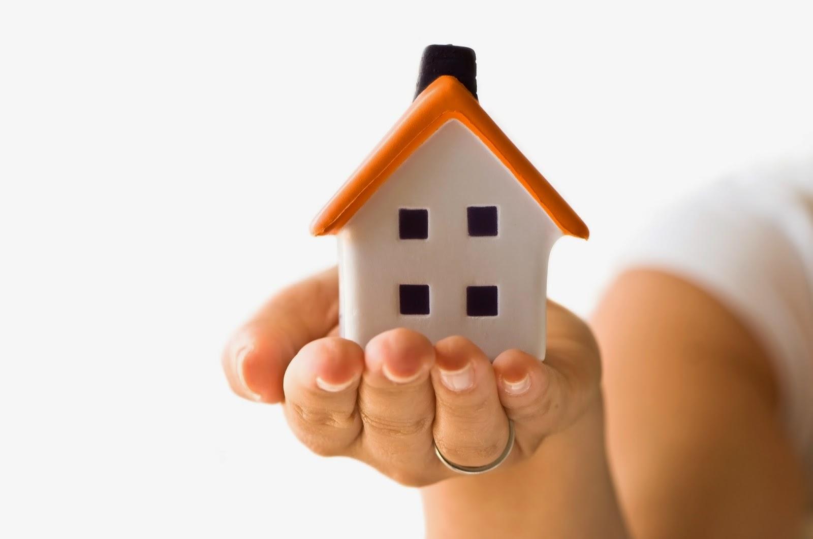 dom na dłoni