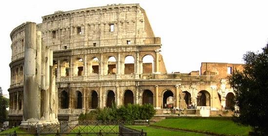 Coliseo de la antigua Roma