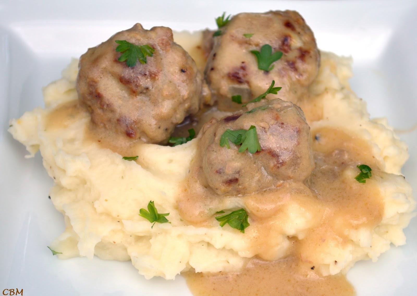 Dans la cuisine de Blanc-manger: Boulettes de viande à la suédoise ...