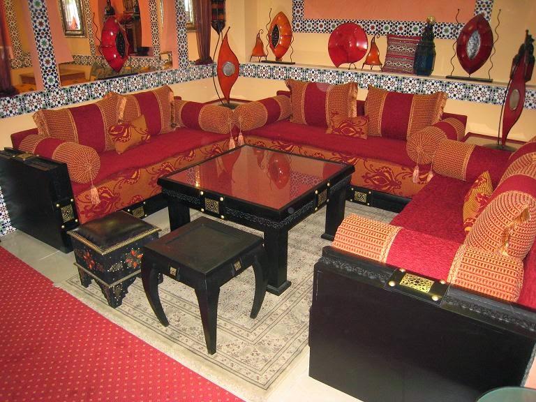 Fantastique artisanat avril 2014 for Tissu de salon marocain