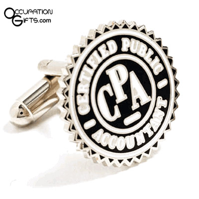 Accountant Cufflinks9