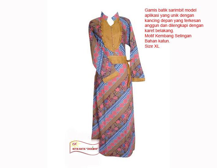 E Store Busana Gaya Baju Batik Wanita Parade Discount